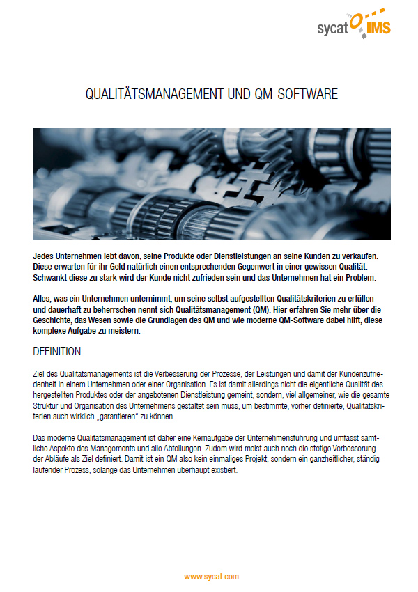 PDF-WhitePaper Qualitätsmanagement