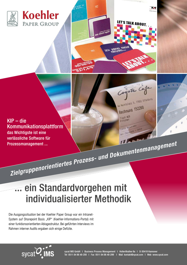 PDF-Dokumentenmanagement bei Koehler Paper Group