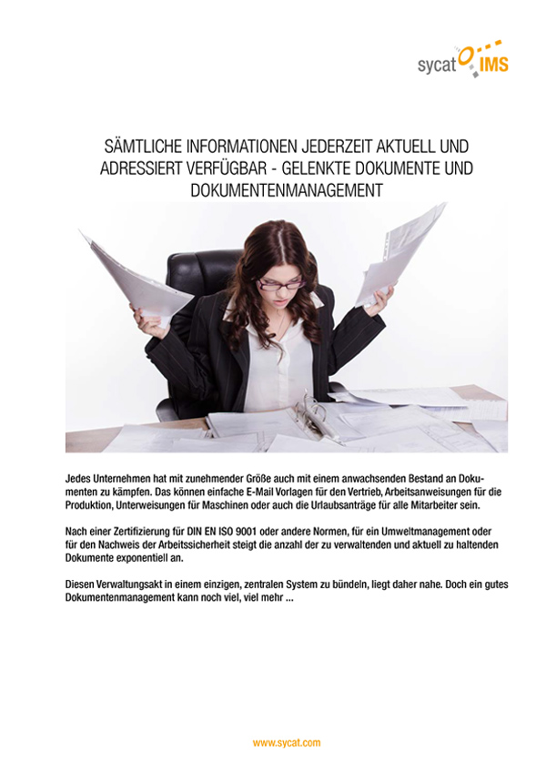 PDF-WhitePaper Dokummentenmanagement